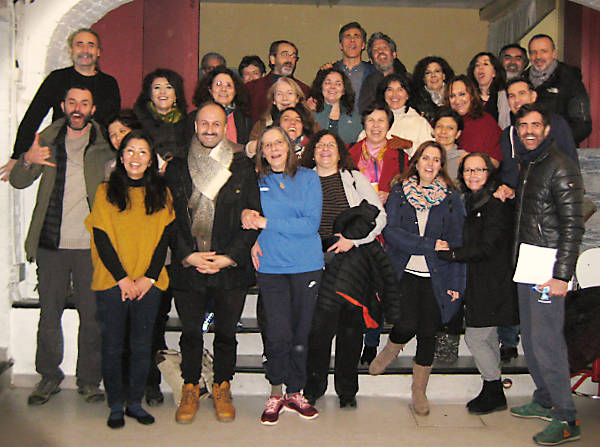 Shomyo workshop at Aula de Musicas, Madrid