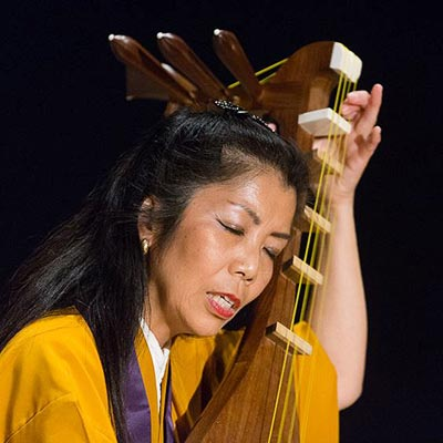 Junko Ueda at Copenhagen World Music Festival