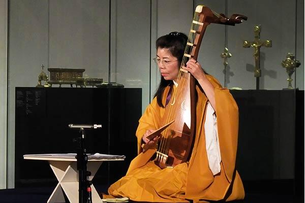 Junko Ueda at St. Caecilien/Museum Schnuetgen, Romanischer Sommer Köln