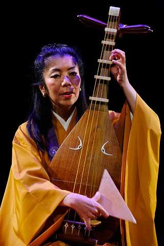 Junko Ueda in Maison des Cultures du Monde, Paris